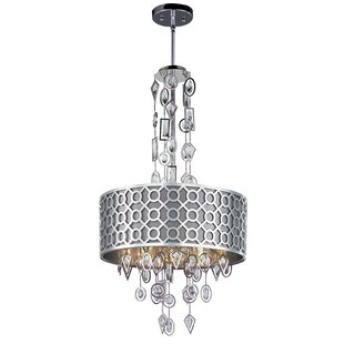 Rosdorf Park Shari 6-Light Drum Chandelier