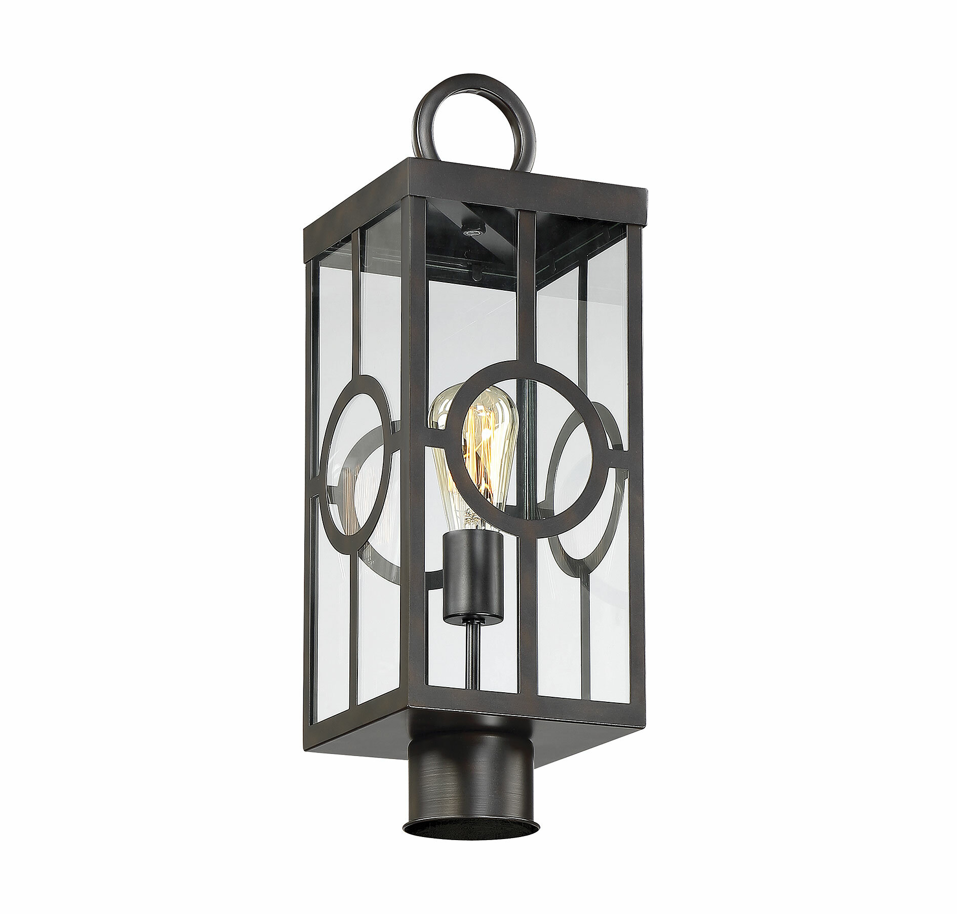 Gracie Oaks Wycoff 1 Light 20 Post Light Reviews Wayfair