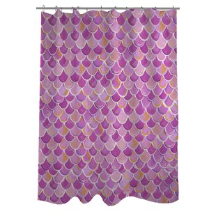 Love from NYC Scale Single Shower Curtain