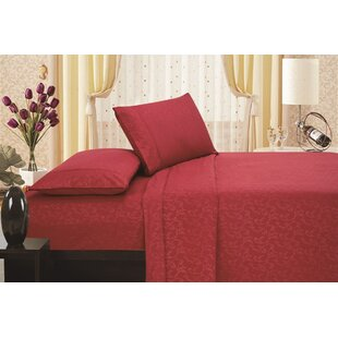 Fedor Printed Flower Embossed Sheet Set