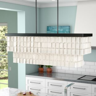 Beachcrest Home Janiya 5-Light Kitchen Island Pendant