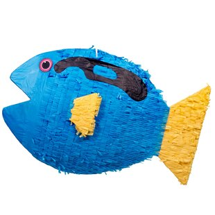 Fish Pinata Paper Disposable Party Favor
