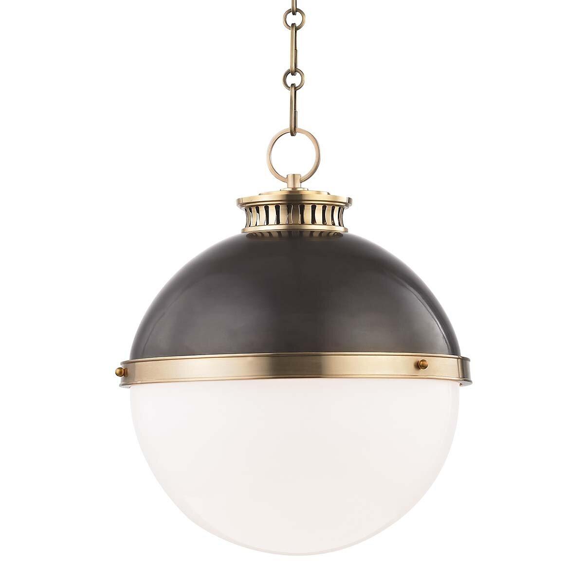 Emerson 1 Light Single Globe Pendant Joss Main