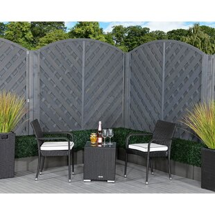 Fleming 2 Seater Rattan Conversation Set By Sol 72 Outdoor