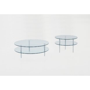 Focus One Home Saturn 2 Piece Coffee Table Set