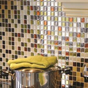 Mosaic Idaho 9 85 X 9 85 Peel Stick Wall Tile In Beige