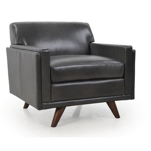 Compare Ari Genuine Leather Armchair by Corrigan Studio Reviews (2019) & Buyer's Guide