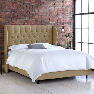 SkylineExpress Goodrich Upholstered Panel Bed