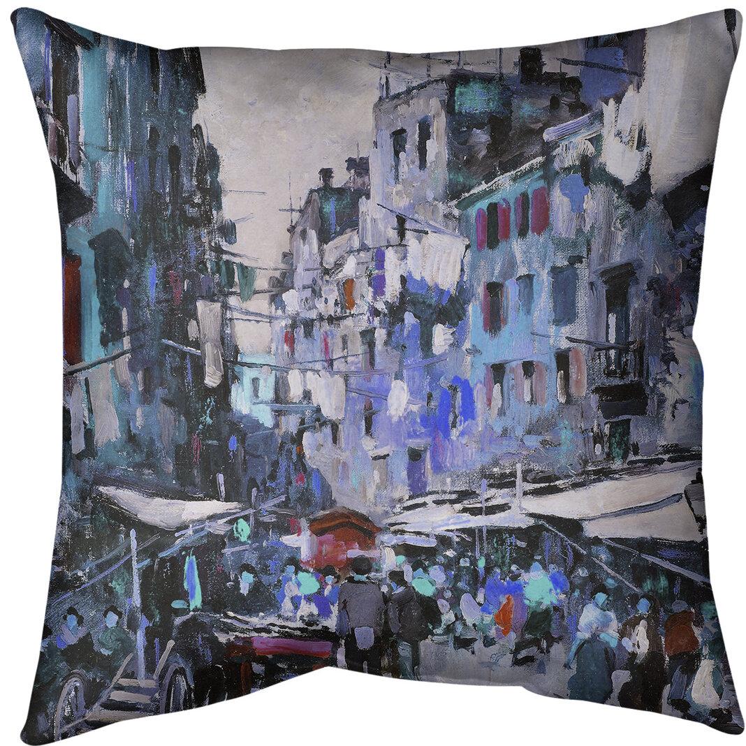 East Urban Home Market In Naples Throw Pillow Wayfair