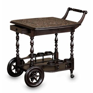 Novica Bar Serving Cart