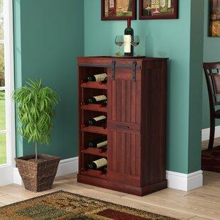Kerri Bar Cabinet by Fleur De Lis Living
