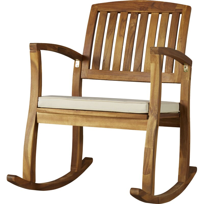 Kairi Rocking Chair With Cushion