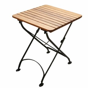 Pleasant Plains Folding Bistro Table By August Grove
