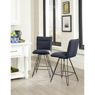Orting Metal Counter Height Bar Stool by Williston Forge
