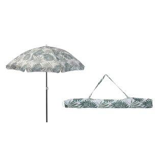 Leafy 1.5m Beach Parasol By Freeport Park