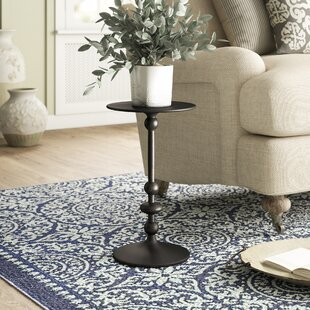 Black Pedestal End Table By Birch Lane™ Heritage
