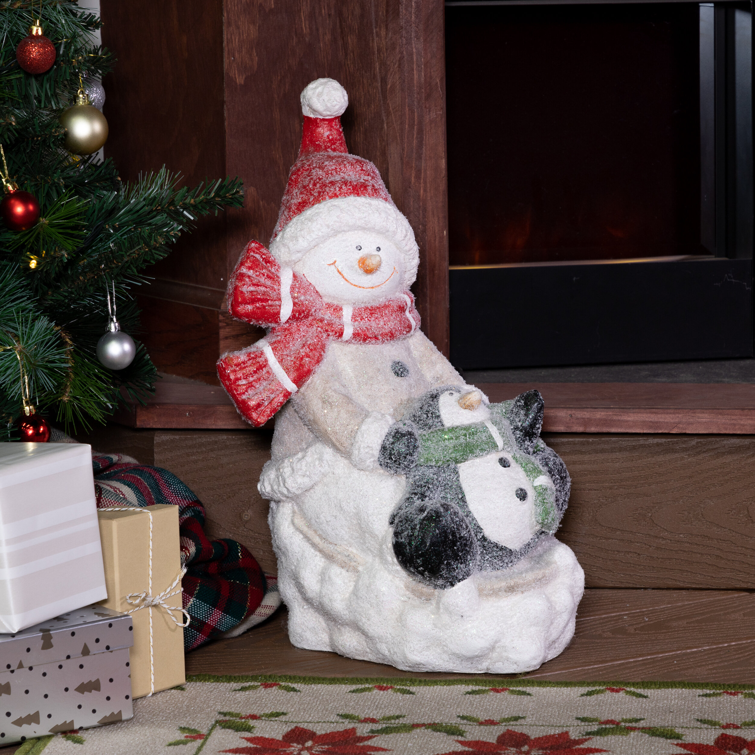 The Holiday Aisle Winter Snowman And