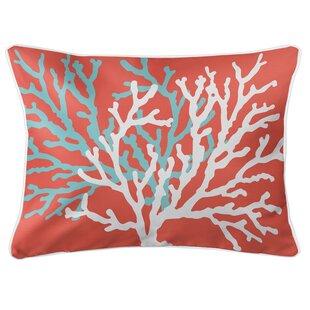 Saxondale Coral Duo Lumbar Pillow