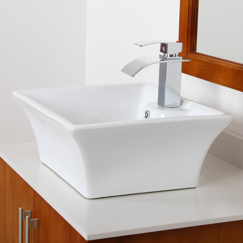 Elite Bathroom Waterfall Faucet & Reviews | Wayfair