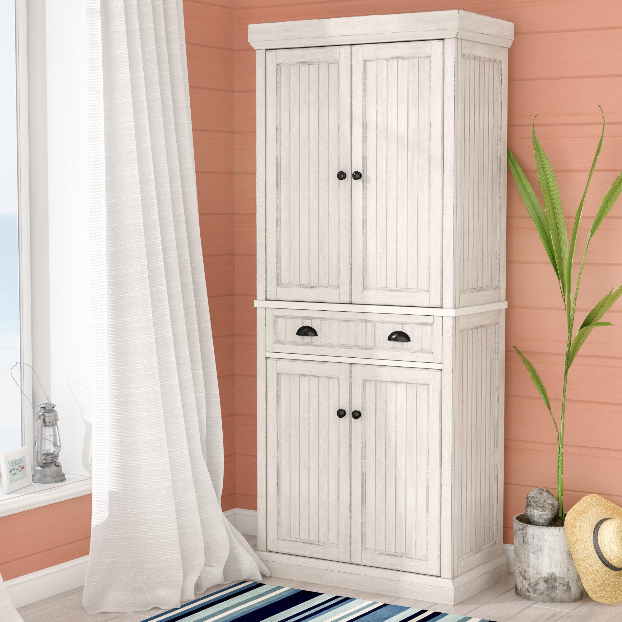Beachcrest Home Halstead 72 Kitchen Pantry Reviews