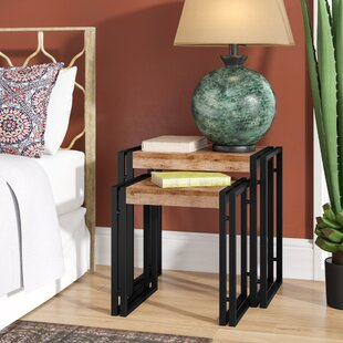 Norita Traditional 2 Piece Nesting Tables by Bungalow Rose