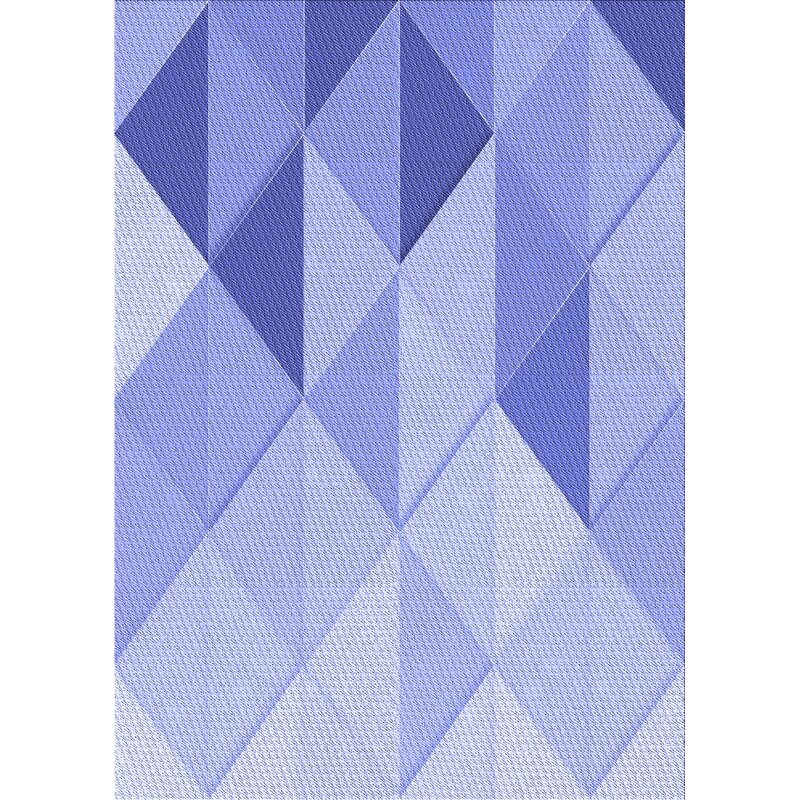 East Urban Home Warne Geometric Wool Blue Area Rug Wayfair