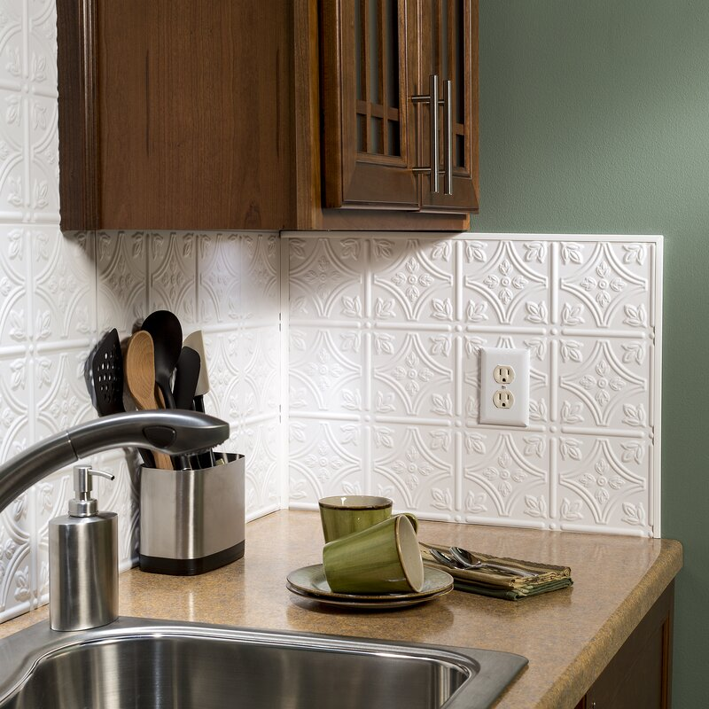Fasade Backsplash Accessory Specialty Piece Tile Trim & Reviews ...