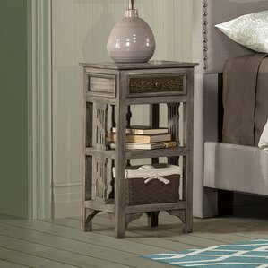 Motyka End Table by Bungalow Rose