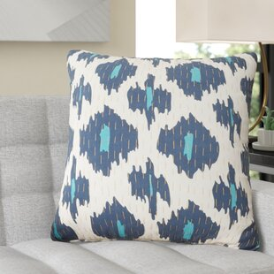 Marquez Kantha 100% Cotton Throw Pillow