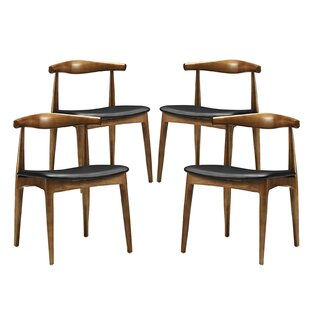 Reviews Modesto Upholstered Dining Chair (Set of 4) by Langley Street Reviews (2019) & Buyer's Guide