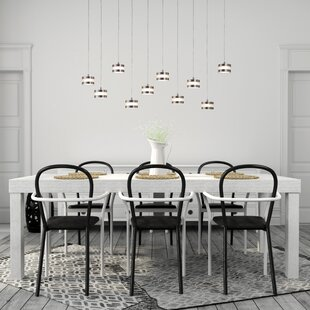 Orren Ellis Belanger 10-Light LED Cluster Pendant