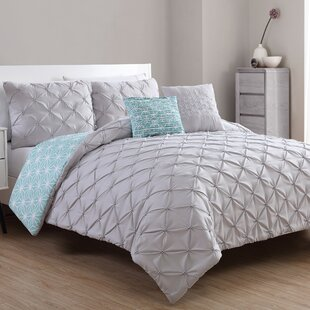 Fredy 5 Piece Reversible Comforter Set