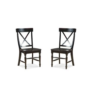 Check Prices Whisnant X-Back Side Chair (Set of 2) by Millwood Pines Reviews (2019) & Buyer's Guide