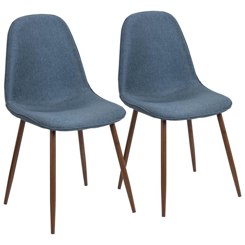 Birdsall Mid-Century Modern Upholstered Dining Chair