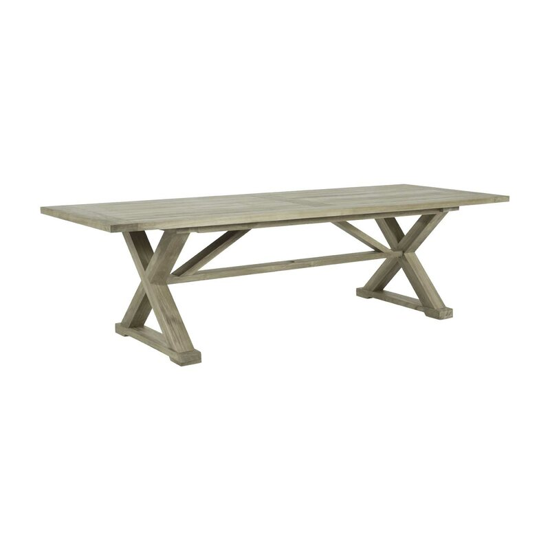 Summer Classics Modena Solid Wood Dining Table Wayfair