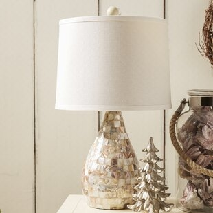 Mother of pearl lamp wayfair eskridge mother of pearl inlay 1925 table lamp set of 2 aloadofball Images