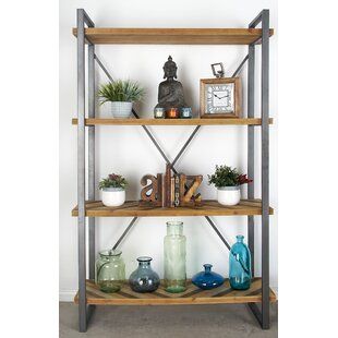Bella Industrial Etagere Bookcase by Foundry Select