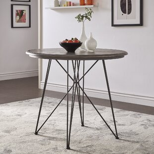 Timmins Iron Pub Table by Williston Forge