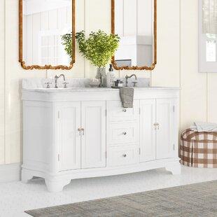Farmhouse Rustic 60 Inches Bathroom Vanities Birch Lane