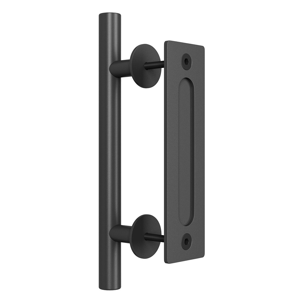 Two Side Door handle Pull Handle Set for Sliding Closet Gate Barn Door Hardware