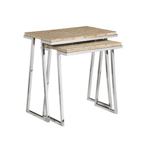 Signature Designs 2 Piece Nesting Tables by Artistica Home