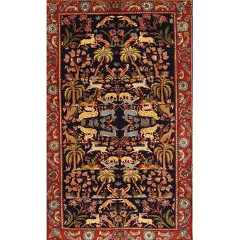 Bloomsbury Market Towne Traditional Red Blue Beige Area Rug Wayfair