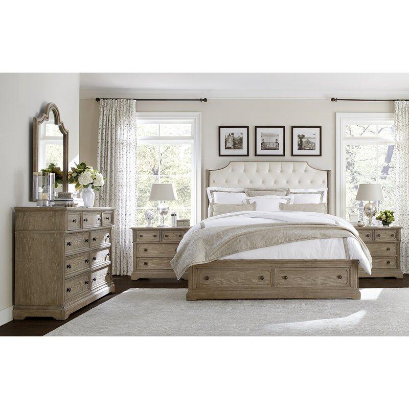 Stanley Wethersfield Estate Upholstered Configurable Bedroom Set ...