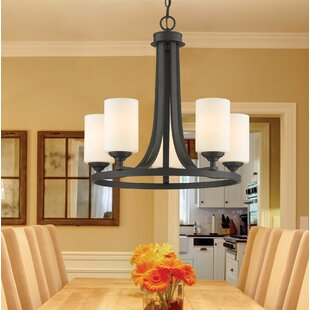 Fleur De Lis Living Beegle 5-Light Shaded Chandelier