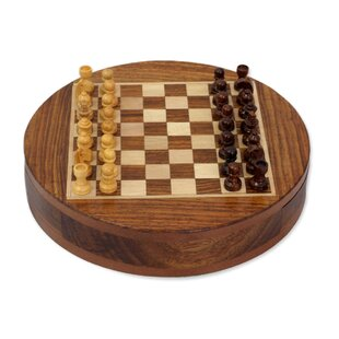 Circular Strategy Chess Set