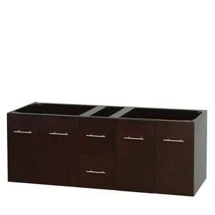 Top Reviews Centra 60 Double Bathroom Vanity Base Only ByWyndham Collection
