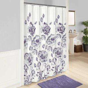 Amiya 100% Cotton Shower Curtain ByOphelia & Co.