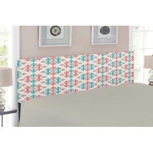 Ambesonne Decorative Metal Twin Panel Upholstered Headboard