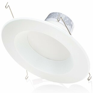 Sunco Lighting 13W 3000K Warm Baffle LED Retrofit Downlight (Set of 12)