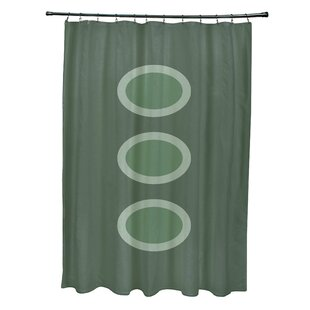 Katrina Geometric Single Shower Curtain